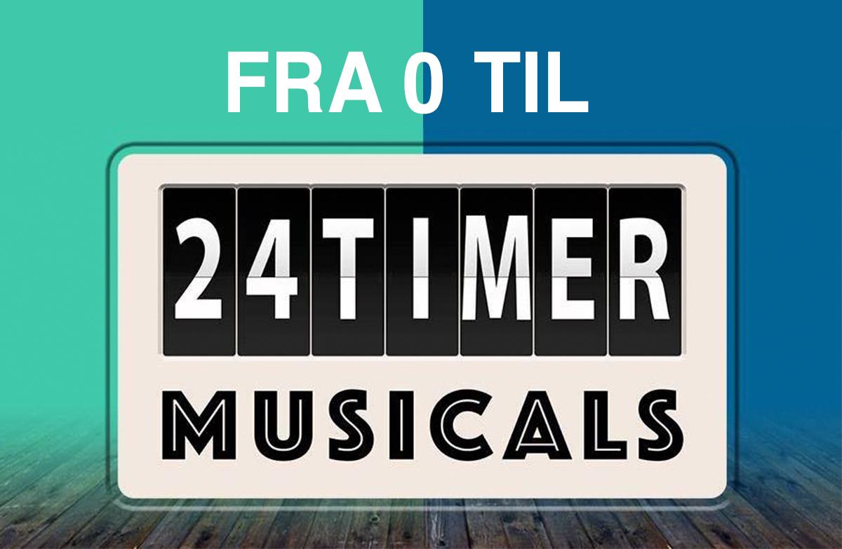 Fra 0 til 4 nyskrevne musicals
